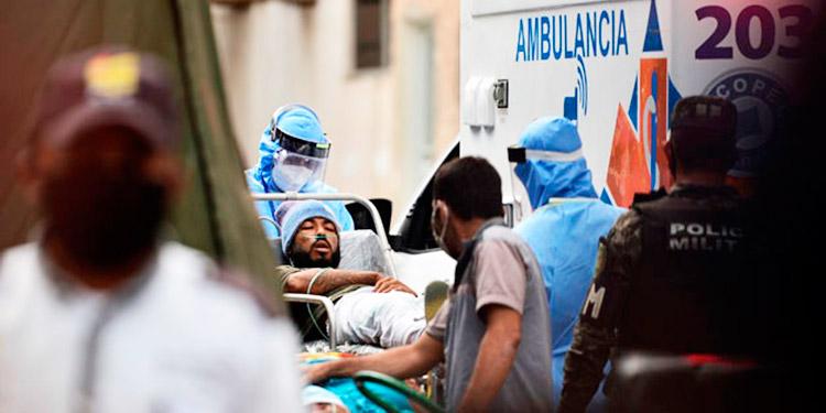 Salud reporta un aumento en la ocupación hospitalaria de pacientes COVID-19
