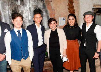 Luis Rodrigo Caballero, Joshua Ramos, Isaac López, María Belén Montes, Annie Anderly Escobar, José Guillermo Rivera, Héctor Carrette