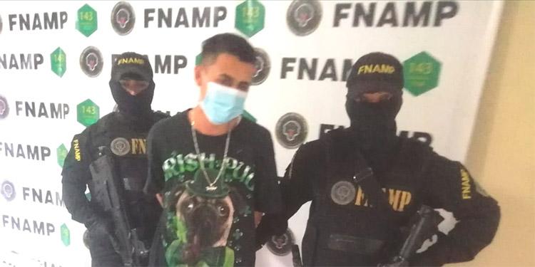 Ángelo Josué Maradiaga Aguilar (18) fue detenido el pasado 11 de enero, por extorsión.