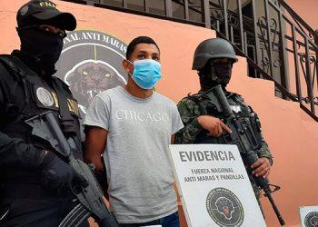 A Marino Exequiel Maradiaga Amador se le acusa de haber ultimado a un activista político del Partido Nacional, en el año 2017.