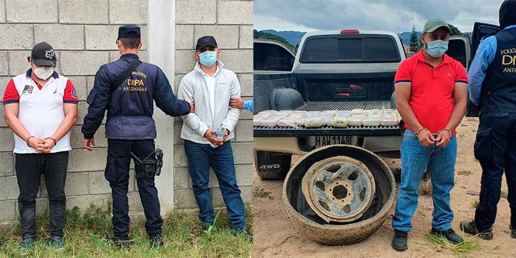 Los tres sospechosos fueron procesados por el delito de tráfico de drogas agravado.