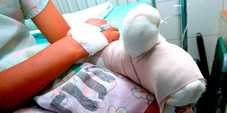 En la actualidad se mantienen internos 13 menores en el Centro Hondureño para el Niño Quemado.