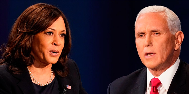 Mike Pence y Kamala Harris mantuvieron contacto telefónico — AFP