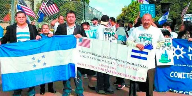 Los hondureños en Estados Unidos han realizado diferentes movilizaciones en procura de concitar el apoyo a una reforma migratoria que les legalice su estatus.