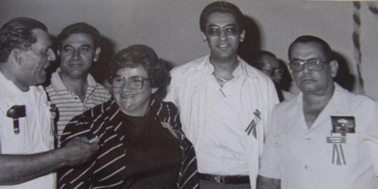 Los primeros constituyentes, Alberto Rodríguez, Carlos Roberto Flores, Carlos Rivas García, Idalia Mendoza.