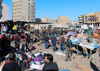 Doble ataque suicida en el centro de Bagdad deja 32 muertos