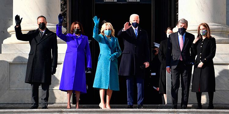 Los momentos más destacados de la toma de posesión de Joe Biden