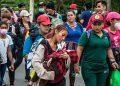 Casi 1,000 migrantes hondureños han sido devueltos al país por Guatemala