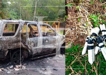 Decomisan artefactos explosivos altamente peligrosos en La Ceiba