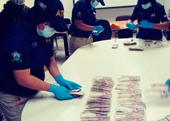 Incautación de la ATIC en Colón asciende a más de dos millones de lempiras
