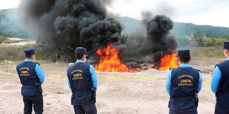 Más de 322 kilogramos de droga han sido decomisados por la Policía Nacional
