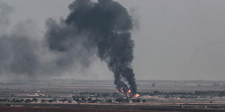 Cinco atacantes muertos en una operación suicida en una base rusa en Siria