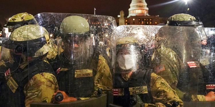 Washington: Activan 6,200 efectivos de la Guardia Nacional