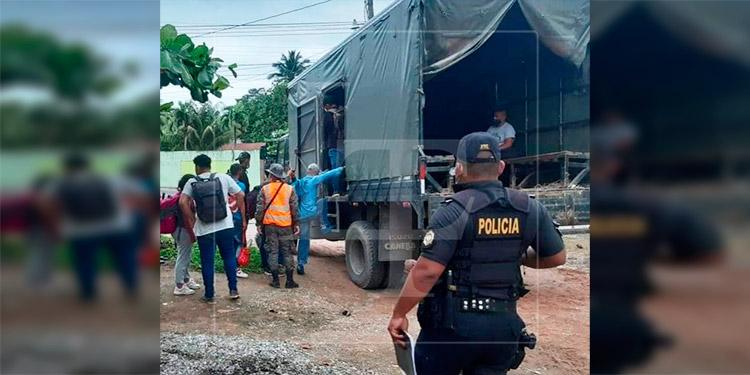 Detienen en Guatemala a 25 migrantes hondureños