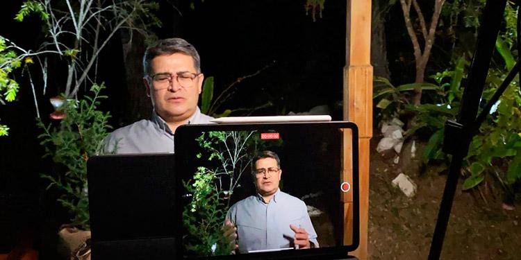 Presidente Hernández dice que hondureños se levantarán en 2021 y serán mejor que antes