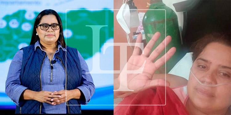 Jefa de la Unidad de Vigilancia de la Salud, Karla Pavón, se reinfecta de COVID-19