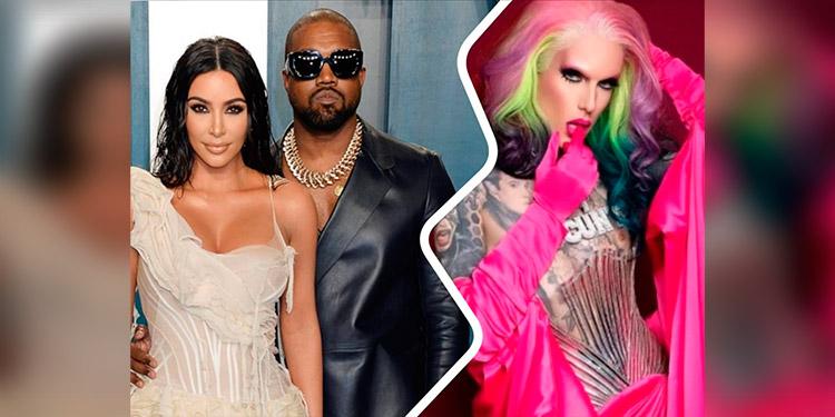 Aseguran que Kanye West engañó a Kim Kardashian con el gurú del maquillaje, Jeffree Star