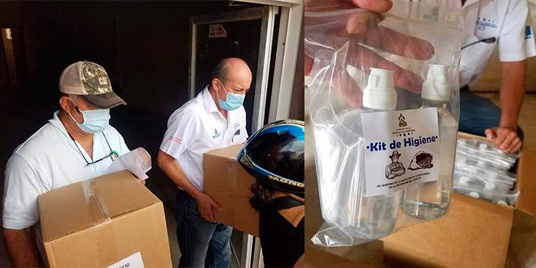 Ihcafé entrega 141 mil kits de bioseguridad a productores en El Paraíso