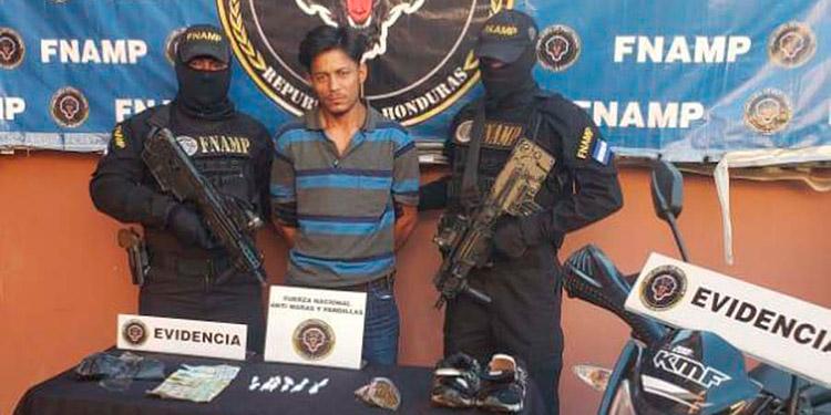 Denis Ramón Ferrufino Acosta fue remitido ante las autoridades del MP, por el supuesto delito de tráfico ilícito de drogas.