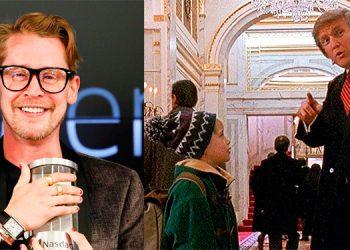 Macaulay Culkin de acuerdo con quitar a Trump de 'Home Alone 2: Lost in New York'