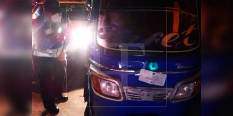 Niña de 8 meses muere aplastada por mototaxi en Comayagüela