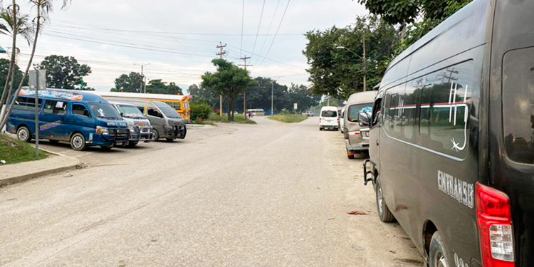 Conductores del transporte público realizan paro de labores en diferentes ciudades del país