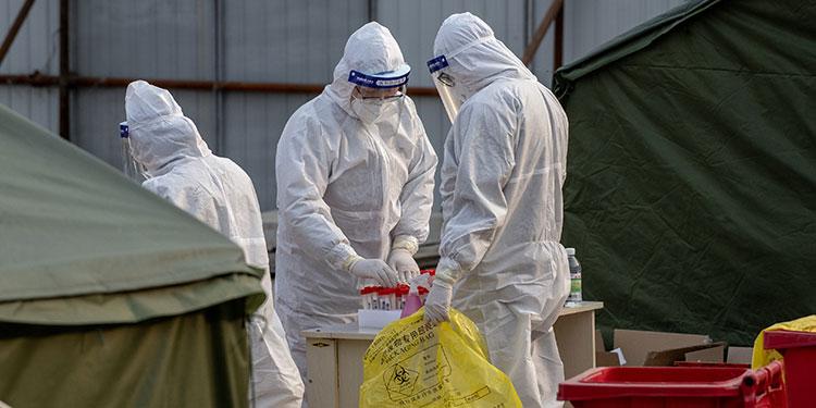 EEUU y expertos de OMS piden más datos a China sobre el origen del coronavirus