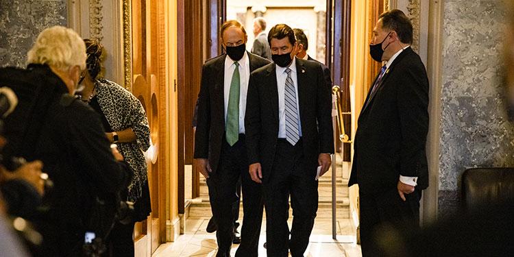 La acusación contra Trump llega el Senado para iniciar el juicio político