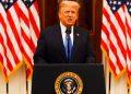 Trump, en su adiós: 'Estaremos de vuelta de algún modo'