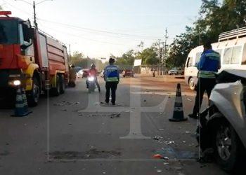 Cuádruple colisión deja una persona fallecida en La Lima, Cortés