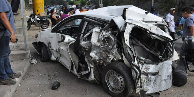 Los accidentes vehiculares se mantienen en una alta incidencia, pese a las restricciones debido a la pandemia de COVID-19.