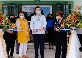 Los magistrados de la CSJ inauguraron ayer el Juzgado de Paz en Cane, departamento de La Paz.