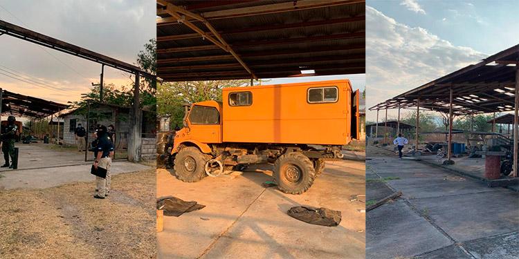 Al exjefe policial le aseguraron varios bienes ubicados en Nacaome, Valle; y en Guanaja, Islas de la Bahía, al interior le encontraron maquinaria pesada.