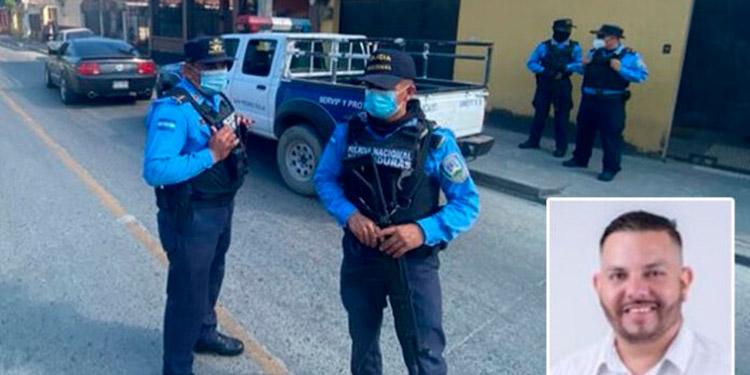Desconocidos disfrazados como agentes policiales y fiscales raptaron hoy al precandidato a diputado suplente por Libre, Antonio Brevé (foto inserta).