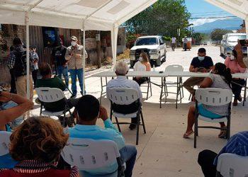 Un total de 240 metros lineales de pavimento se entregaron en el barrio El Carmen, de Siguatepeque.
