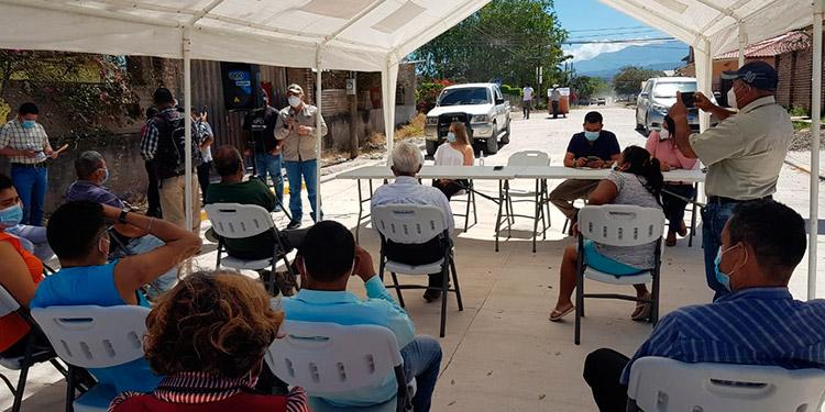Pavimentación beneficia a sectores de Siguatepeque