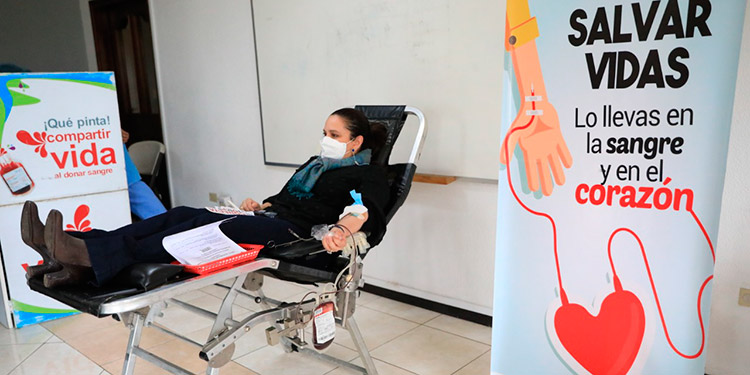 Por causa de la emergencia nacional, la Cruz Roja se ha visto en la necesidad de suspender jornadas de captación.