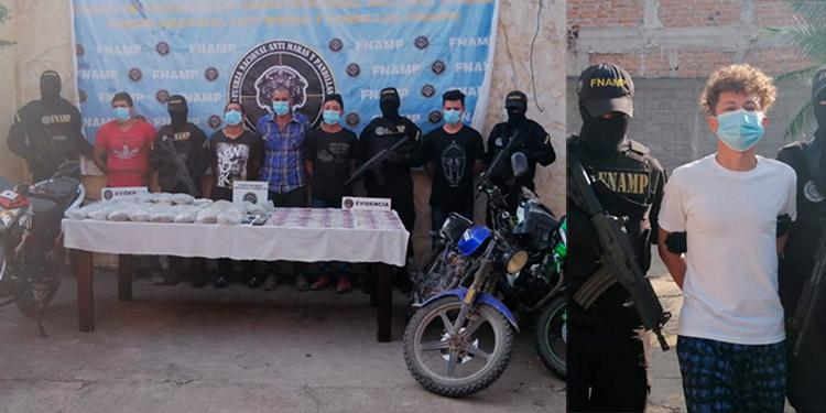 Capturan a 6 miembros de la MS-13 en operaciones realizadas en La Paz y Comayagua