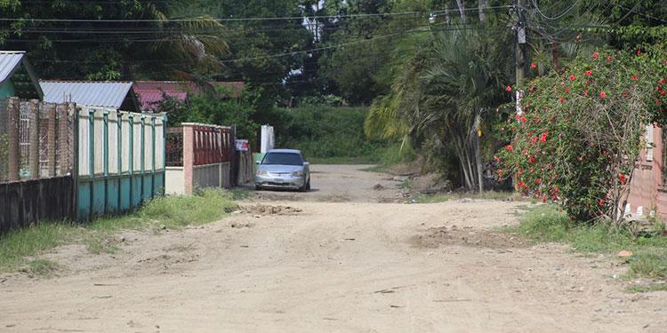 La colonia Cazenave fue una de las inundadas tras el paso de las tormentas Eta y Iota; hoy está completamente limpia.