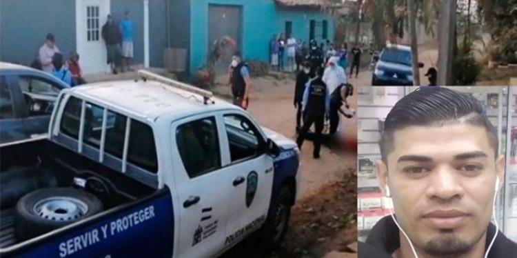 Osman Iván Godoy fue interceptado la mañana de este por desconocidos en una calle de terracería donde le infirieron al menos 14 heridas de bala.