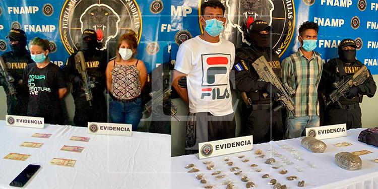 Capturan a 4 miembros de la MS-13 en el departamento de Cortés