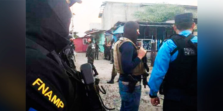 Capturan a 4 pandilleros de la 18, entre ellos un taxista, en la zona norte del país
