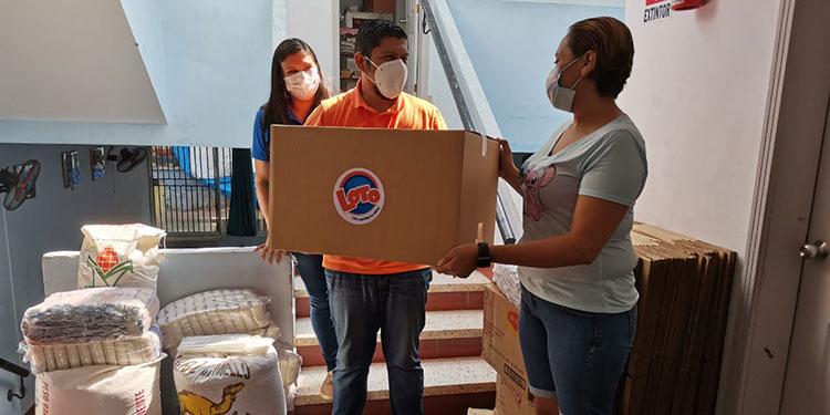 personas que acuden a diario al centro de esa organización en Tegucigalpa.