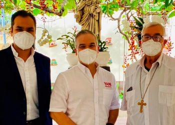 Luis Alfonso también declaró su apoyo total a la precandidatura a diputado de su sobrino Javier Santos.
