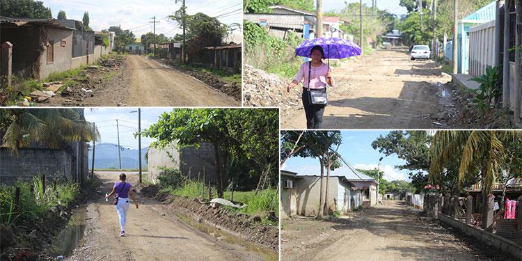 La colonia Reyes Caballero estaba llena de lodo y escombros; hoy, las calles están completamente limpias y los vecinos han vuelto a sus casas.