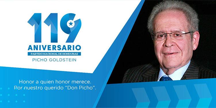 "Partido Nacional celebrará 119  aniversario en honor a ""Picho"""