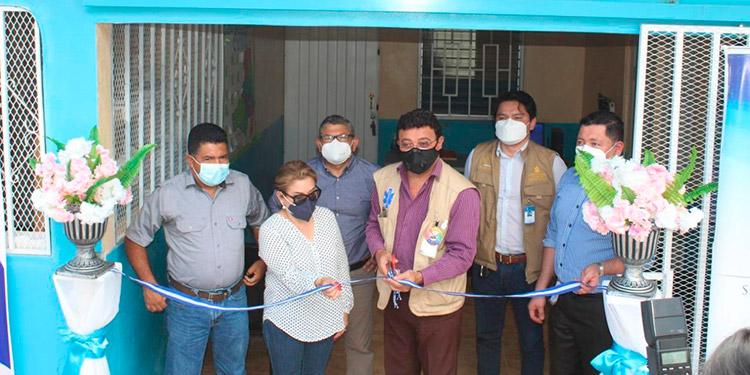 Inauguración de centro de salud y triaje en Potrerillos, El Paraíso.
