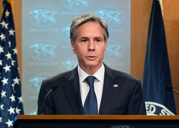 """El jefe de la diplomacia de Estados Unidos, Antony Blinken, destacó que la frontera sur de su país está """"cerrada a la inmigración irregular"""". (LASSERFOTO AFP)"""