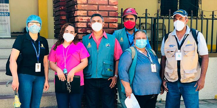 Las brigadas iniciaron su labor, mientras este año de cada 100 pruebas aplicadas unas 70 son positivas y habrá una intervención inmediata en los barrios El Jazmín y San Miguel, de la ciudad de El Paraíso.