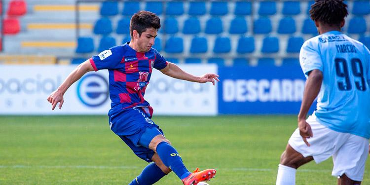 Jonathan Rubio estuvo presente ayer en el empate del Deportivo Chaves de Portugal.